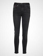 Tommy Jeans Mid Rise Skinny Nora Skinny Jeans Svart TOMMY JEANS