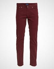 Gant O1. Slim Cord Jeans Slim Jeans Rød GANT