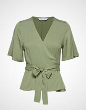 CAMILLA PIHL Hug Bluse Kortermet Grønn CAMILLA PIHL