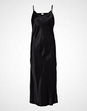 Superdry Bianca Slip Dress Knelang Kjole Svart Superdry