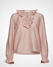Stine Goya Pamela, 522 Woven Cotton Bluse Langermet Rosa STINE GOYA