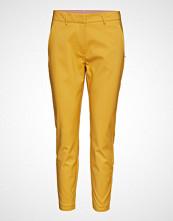Coster Copenhagen Pants With Zipper Pockets - Julia Bukser Med Rette Ben Gul COSTER COPENHAGEN
