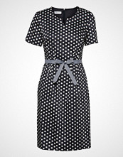 Gerry Weber Dress Woven Fabric Knelang Kjole Svart GERRY WEBER
