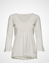 Odd Molly Lace Vibration Blouse Bluse Langermet Creme ODD MOLLY