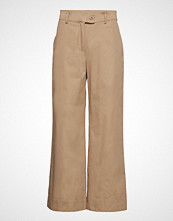 Just Female Bobby Trousers Vide Bukser Beige JUST FEMALE