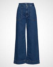 Cathrine Hammel Denim Sailor Pants Jeans Sleng Blå CATHRINE HAMMEL