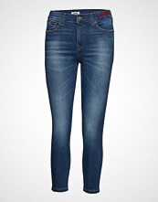 Tommy Jeans Mid Rise Skinny Nora Skinny Jeans Blå TOMMY JEANS
