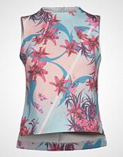 Helly Hansen W Hp Ocean Sleeveless Top T-shirts & Tops Sleeveless Multi/mønstret HELLY HANSEN