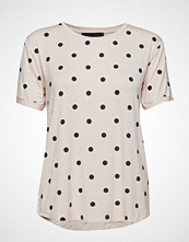 Soft Rebels Dotted T-Shirt T-shirts & Tops Short-sleeved Rosa SOFT REBELS