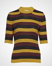 Ganni Lurex Striped Knit Strikket Genser Multi/mønstret GANNI