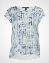 Esprit Collection T-Shirts Bluse Kortermet Blå ESPRIT COLLECTION