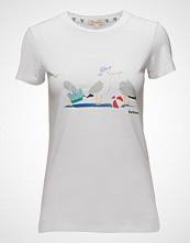Barbour Barbour Pembrey Tee T-shirts & Tops Short-sleeved Hvit BARBOUR