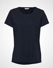 Fransa Zaganic 2 T-Shirt T-shirts & Tops Short-sleeved Blå FRANSA