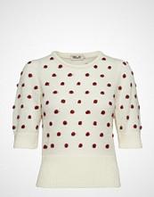 Baum Und Pferdgarten Chance T-shirts & Tops Short-sleeved Creme BAUM UND PFERDGARTEN