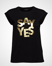 Soft Rebels Sayyes T-Shirt T-shirts & Tops Short-sleeved Svart SOFT REBELS
