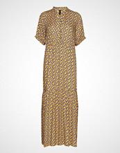 Yassolira Chiffon Maxi Dress Da Maxikjole Festkjole Blå YAS