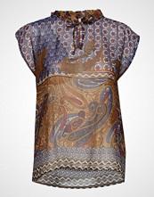 Masai Edel Top Bluse Ermeløs Multi/mønstret MASAI