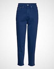 Tommy Jeans High Rise Tapered Tj Bukser Med Rette Ben Blå TOMMY JEANS
