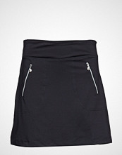 DAILY SPORTS Madge Skort 45 Cm Kort Skjørt Svart DAILY SPORTS