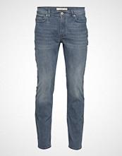 Mango Man Slim-Fit Grey Wash Jan Jeans Slim Jeans Blå MANGO MAN