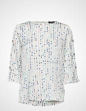 Esprit Collection Blouses Woven Bluse Langermet Hvit ESPRIT COLLECTION