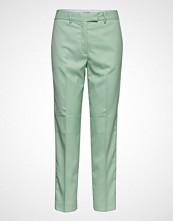 Calvin Klein Stp Detail Pastel Cigarette Pant Bukser Med Rette Ben Grønn CALVIN KLEIN