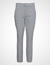GAP Skinny Ankle Plaid/Stripe Bukser Med Rette Ben Grå GAP