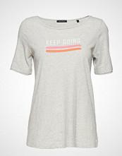 Marc O'Polo T-Shirt Short Sleeve T-shirts & Tops Short-sleeved Grå MARC O'POLO