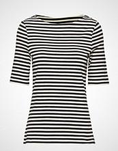 Gant D1. Boatneck Striped Top T-shirts & Tops Short-sleeved Blå GANT