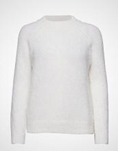 IBEN Monty Sweater Strikket Genser Hvit IBEN