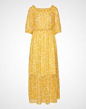 Gina Tricot Sahara Off Shoulder Maxi Dress Maxikjole Festkjole Gul GINA TRICOT