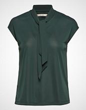 Whyred Vita Jersey Bluse Kortermet Grønn WHYRED