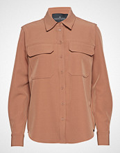 Designers Remix Veronique Shirt Langermet Skjorte Oransje DESIGNERS REMIX