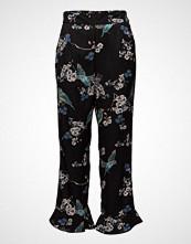 Cream Margot 7/8 Pants Bukser Med Rette Ben Svart CREAM