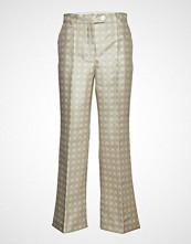 Stine Goya Bob, 527 Mikado Tailoring Bukser Med Rette Ben Creme STINE GOYA