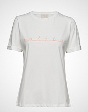 Minus Malibu Tee T-shirts & Tops Short-sleeved Hvit MINUS