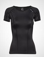 Skins Dnamic Womens S/S Top T-shirts & Tops Short-sleeved Svart SKINS