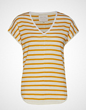 Part Two Signe Ts T-shirts & Tops Short-sleeved Gul PART TWO