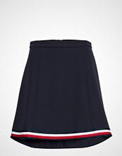 Tommy Hilfiger Angela Global Stp Short Skirt Kort Skjørt Blå TOMMY HILFIGER