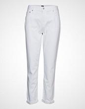 GAP Lt Wt Gf Optic White Bukser Med Rette Ben Hvit GAP