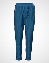 Pulz Jeans Samantha Loose Pant Bukser Med Rette Ben Blå PULZ JEANS