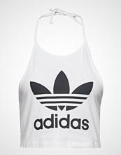 Adidas Originals Trefoil Tank T-shirts & Tops Sleeveless Hvit ADIDAS ORIGINALS
