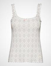 Odd Molly Zoom Out Tanktop T-shirts & Tops Sleeveless Grå ODD MOLLY