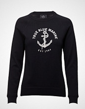 Park Lane Pullover With Logo Strikket Genser Svart PARK LANE