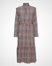 Gina Tricot Candice Dress Knelang Kjole Multi/mønstret GINA TRICOT