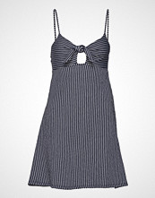 Gina Tricot Rosita Dress Knelang Kjole Blå GINA TRICOT