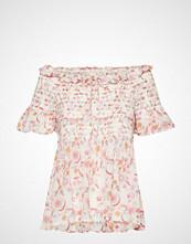 Odd Molly Majestic Blouse Bluse Kortermet Rosa ODD MOLLY