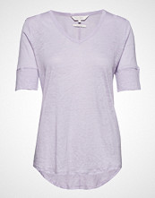 Part Two Curly Ts T-shirts & Tops Short-sleeved Lilla PART TWO