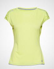 adidas Tennis Melbourne Tee W T-shirts & Tops Short-sleeved Gul ADIDAS TENNIS