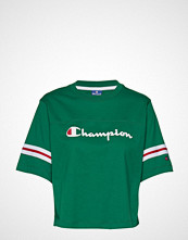 Champion Rochester Crewneck Croptop T-shirts & Tops Short-sleeved Grønn CHAMPION ROCHESTER